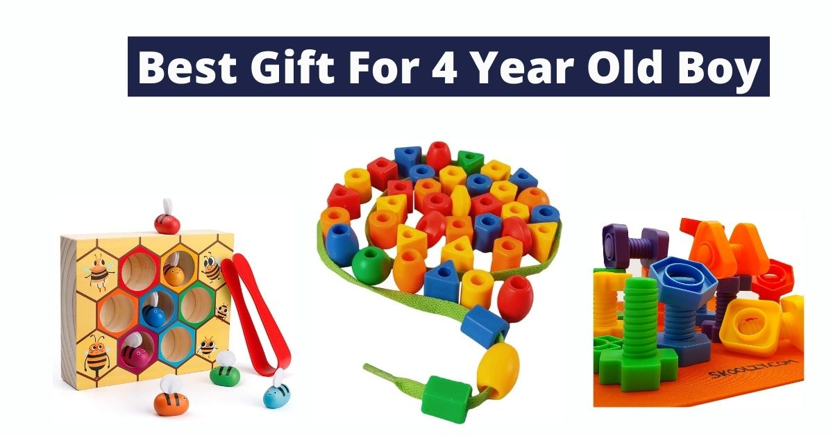 Top 15 Best Gift For 4 Year Old Boy [Buyer's Guide]