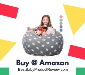 baby bean bag chair filled