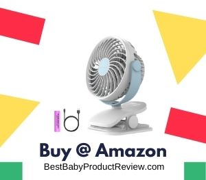 Portable Stroller Fan for Baby
