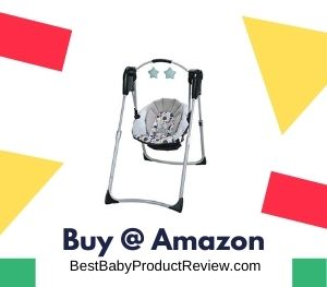 Slim Spaces Compact Baby Swing