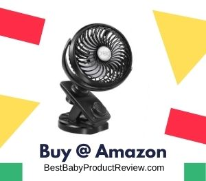 Stroller Fans Mini USB Desk Clip Fan