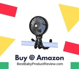 WiHoo Mini Handheld Stroller Fan