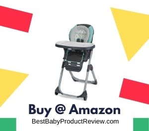 Graco DuoDiner LX High Chair, Converts to Dining Booster Seat