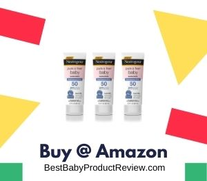 Baby Mineral Sunscreen Lotion with Broad Spectrum