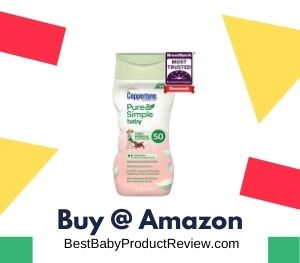 Coppertone Pure & Simple Baby Tear